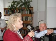 Шильдт Мария Никитична проживающая -дома интерната, приняла активное участие в концерте